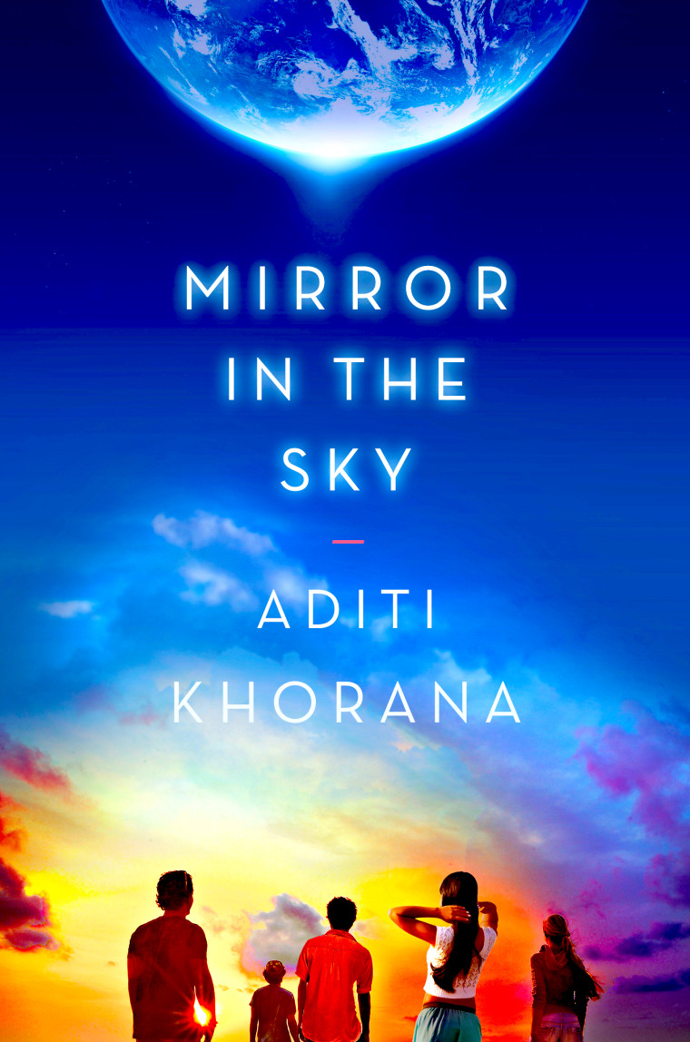 """""""Mirror in the Sky,"""" Khorana's premiere book, was published June 21, 2016."""