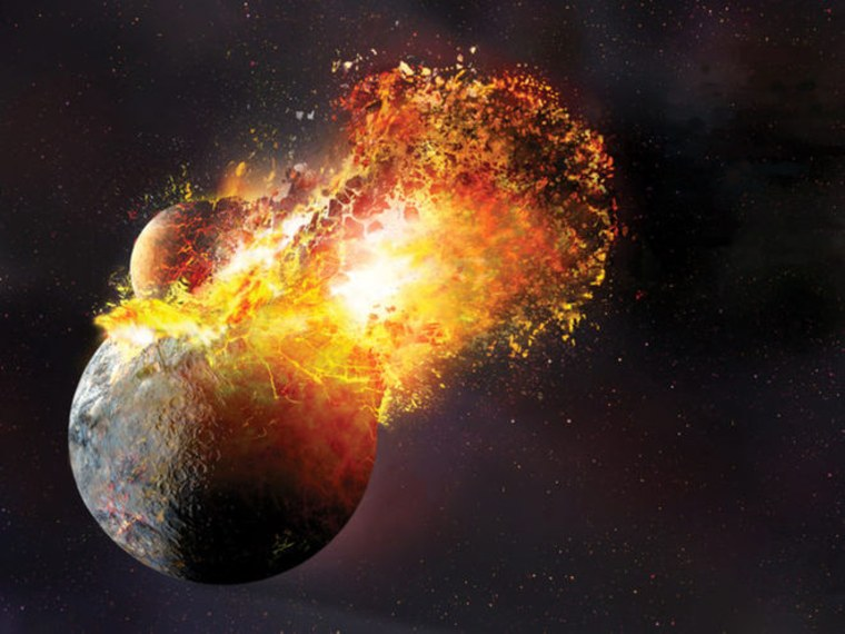 Moon's Birth May Have Vaporized Most of Earth, Study Shows