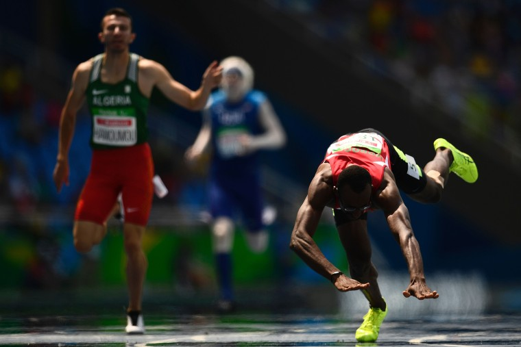 Image: TOPSHOT-ATHLETICS-OLY-2016-PARALYMPIC