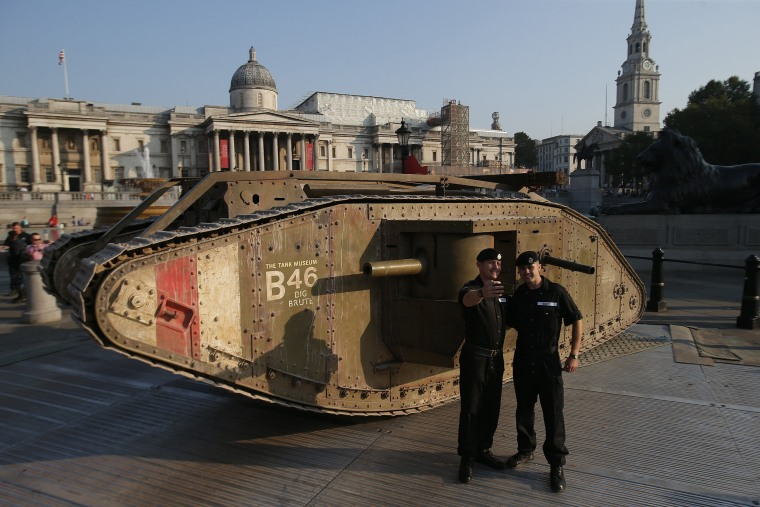 Image: Tank anniversary