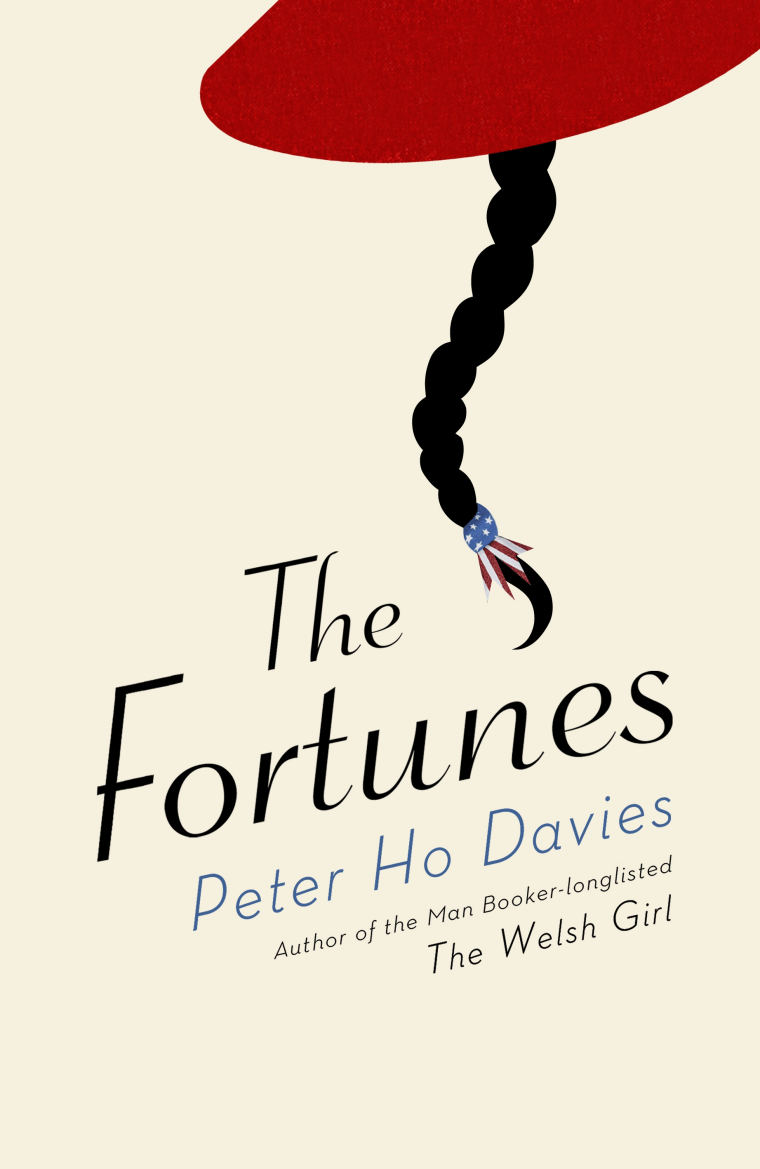 """The Fortunes"" tells the story of four Chinese-American protagonists throughout American history."