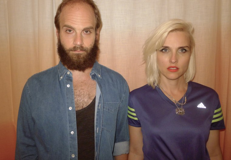 "Co-creators of ""High Maintenance"" Ben Sinclair and Katja Blichfeld."