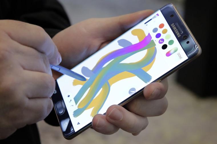 IMAGE: Samsung Galaxy Note 7