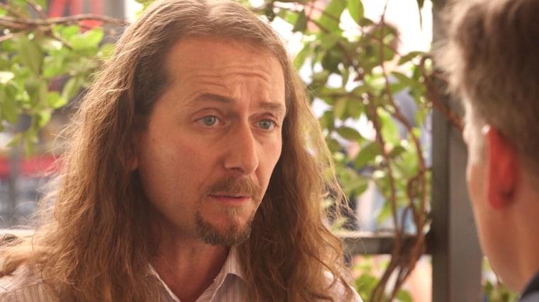 Italian cyber security investigator Stefano Maccaglia.