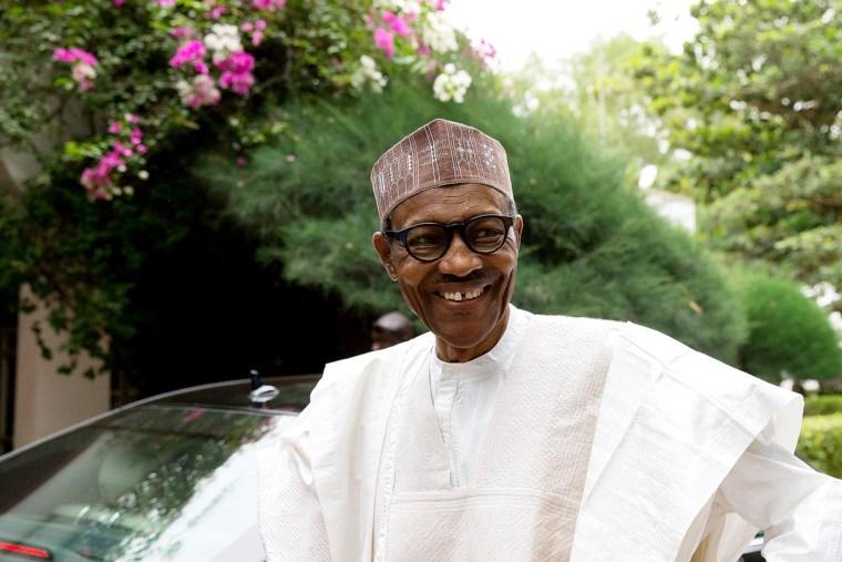Nigerian President Muhammadu Buhari.