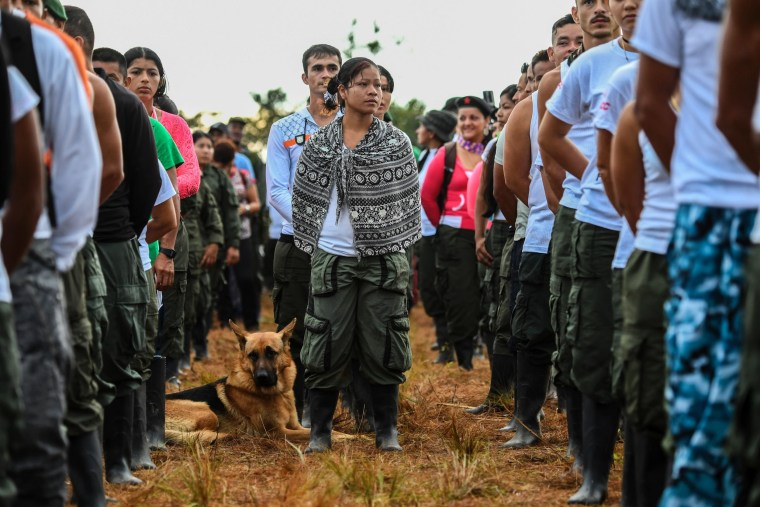 Image: TOPSHOT-COLOMBIA-PEACE-GUERRILLA-CONFERENCE