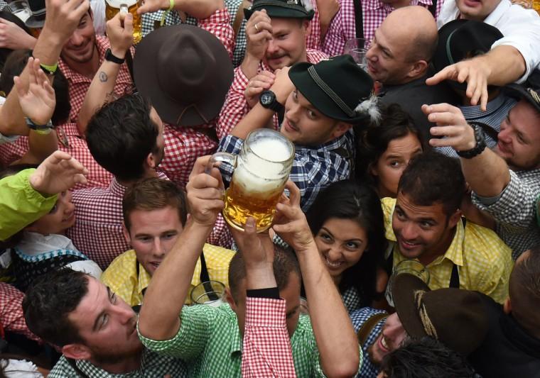 Image: TOPSHOT-GERMANY-BEER-FESTIVAL-OKTOBERFEST