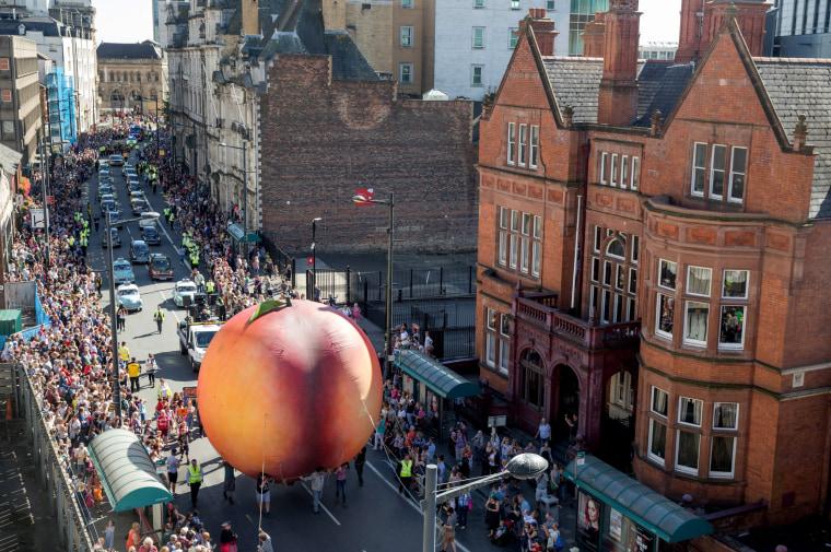 Image: *** BESTPIX *** Cardiff Holds Roald Dahl Centenary Extravaganza