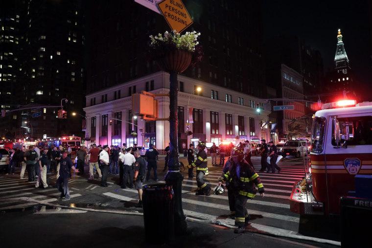 Image: Explosion in Manhattan