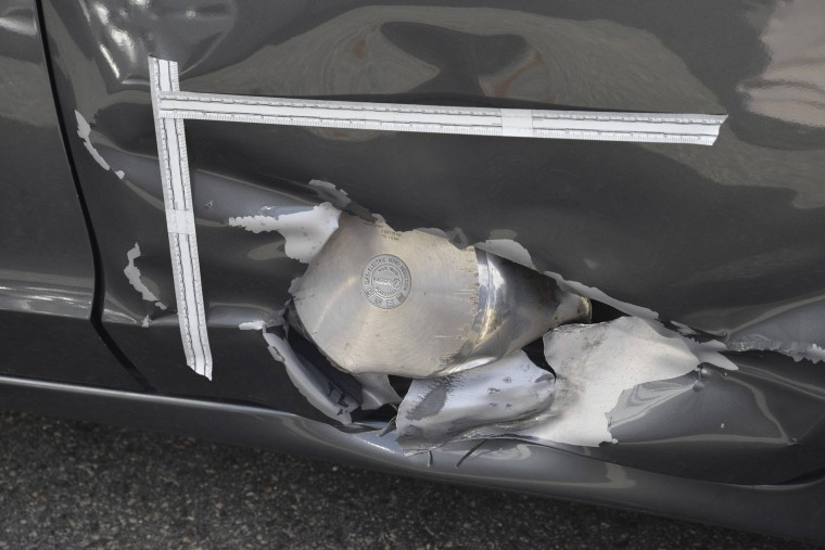 Image: Boston Marathon bomb fragment