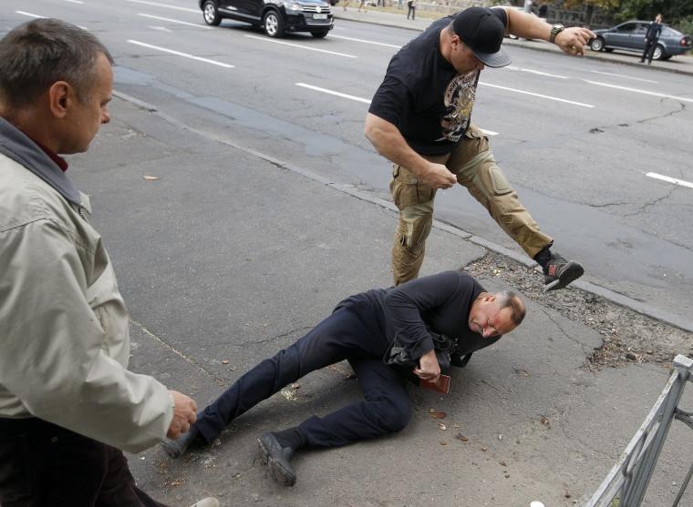 Image: TOPSHOT-UKRAINE-RUSSIA-CONFLICT-VOTE-PROTEST