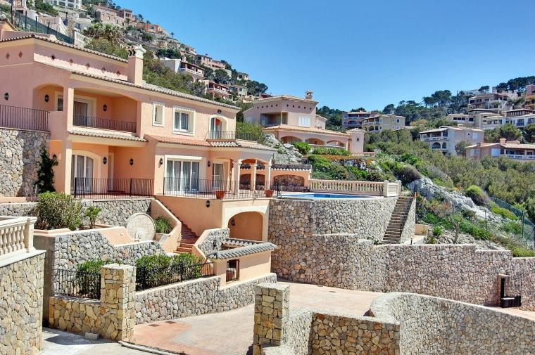 Angelina Jolie and Brad Pitt's home in Majorca