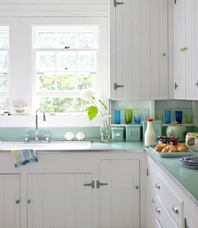 Island Paradise pantone kitchen inspiration