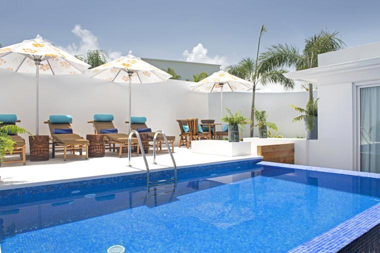 Pineapple shaped villa in Punta Cana