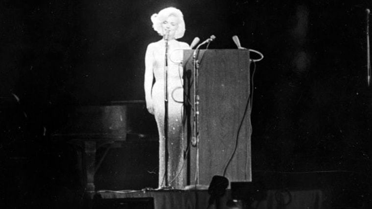Marilyn Monroes Dress From Happy Birthday Mr President Is Sold