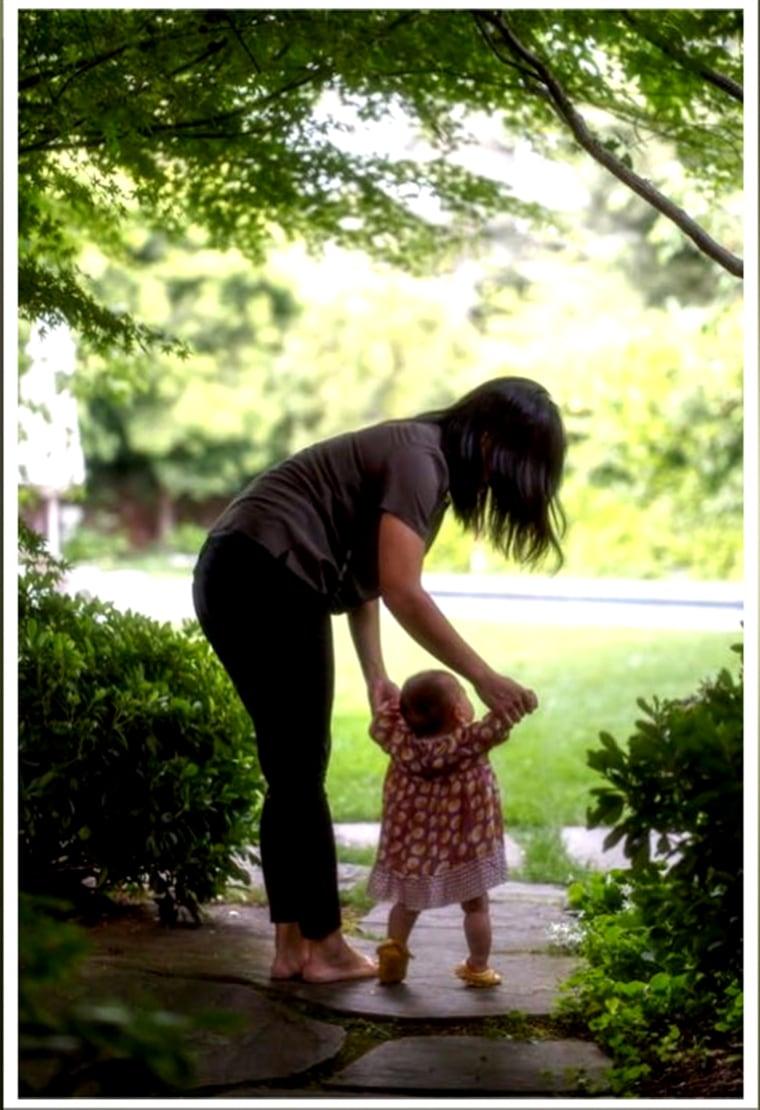 Priscilla Chan and daughter Max