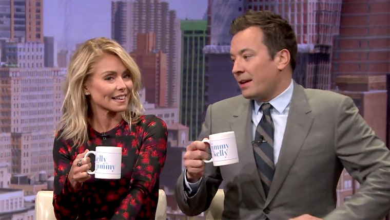 Kelly Ripa on The Tonight Show with Jimmy Fallon