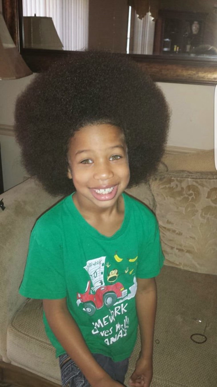 boy grows hair for 2 years to help kids with cancer