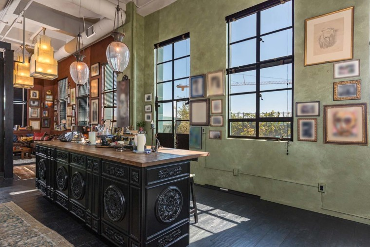 Johnny Depp's LA apartment
