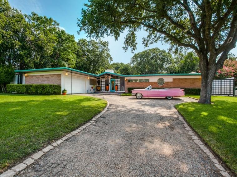 '50s home in Dallas