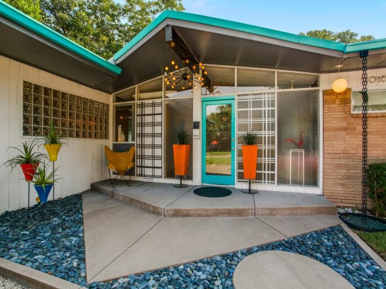 '50s inspired home in Dallas