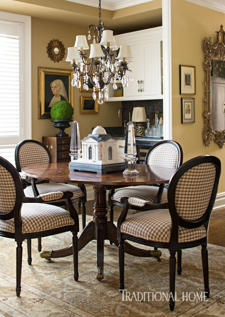 South Barrington Dining Room Project: Tim Gunn Project Runway Manhattan Apartment Home Decor