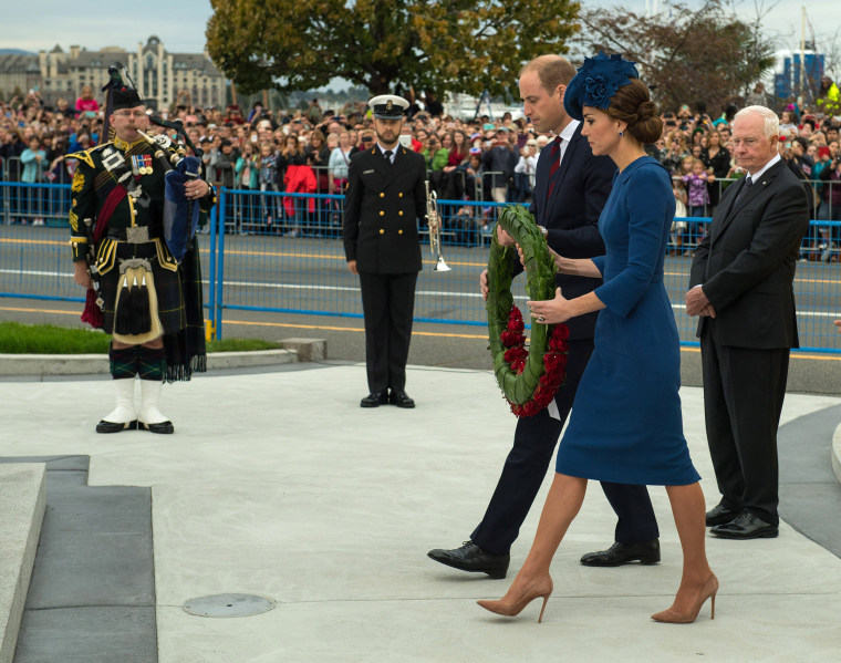 Image: 2016 Royal Tour To Canada Of The Duke And Duchess Of Cambridge - Victoria, British Columbia