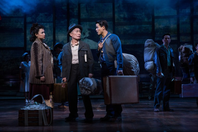 """Allegiance"" will make its Broadway debut on November 8, 2015. The show, which was inspired by actor George Takei's early life, tells one story of Japanese-American internment during World War II."