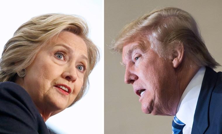 Image: FILES-US-VOTE-TRUMP-CLINTON