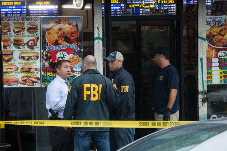 Image: Investigation Continues Into Bombing In New York's Chelsea Neighborhood