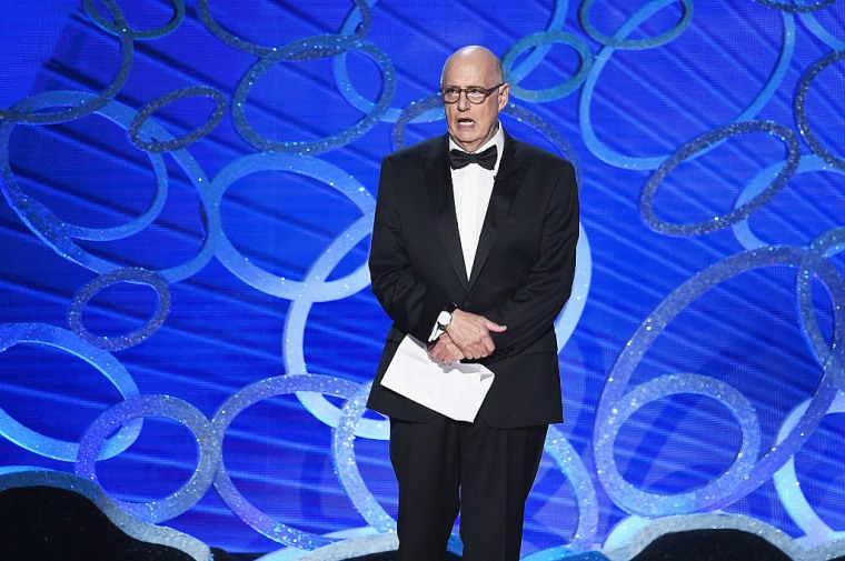 Actor Jeffrey Tambor accepts Outstanding Lead Actor in a Comedy Series for 'Transparent' during the 68th Annual Primetime Emmy Awards on September 18, 2016 in Los Angeles, California.