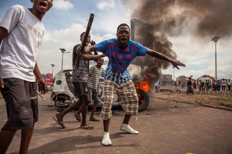 Image: TOPSHOT-DRCONGO-POLITICS-UNREST