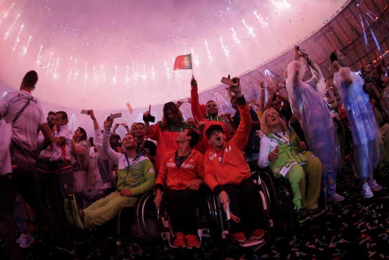 Image: 2016 Rio Paralympics - Closing Ceremony