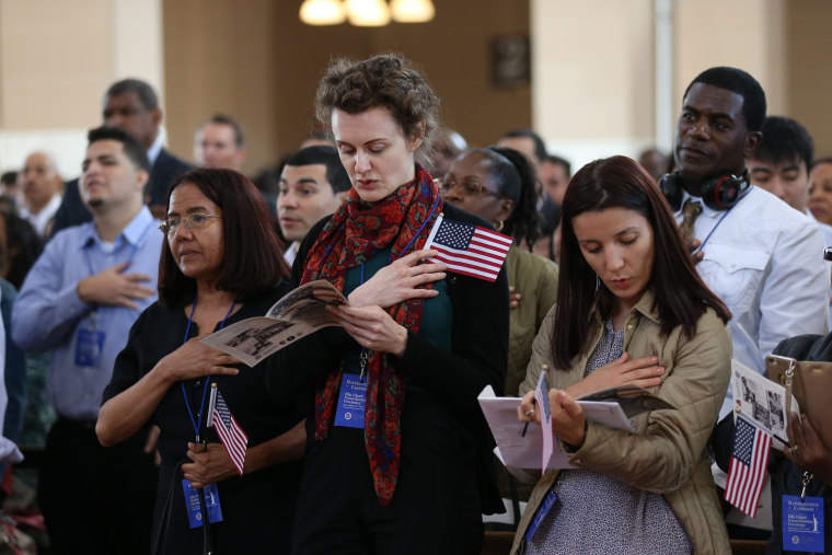 Annual Naturalization Ceremony in New York