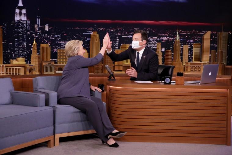 IMAGE: Hillary Clinton on 'The Tonight Show Starring Jimmy Fallon'