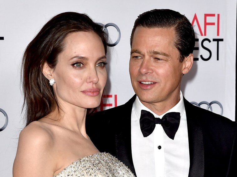 Image: Angelina Jolie Pitt and Brad Pitt