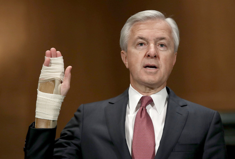 Image: Wells Fargo CEO John Stumpf Testifies To Senate Committee