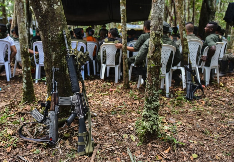 Image: COLOMBIA-PEACE-GUERRILLA-CONFERENCE