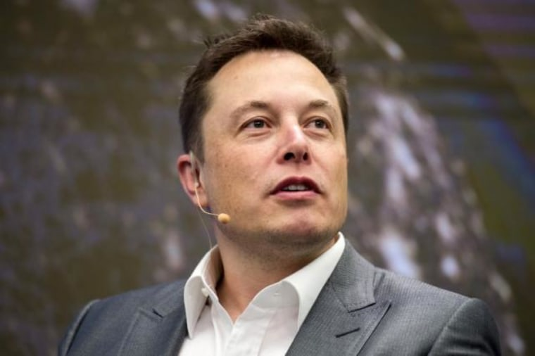 Elon Musk, Chairman of SolarCity and CEO of Tesla Motors, speaks at SolarCity's Inside Energy Summit in Midtown, New York