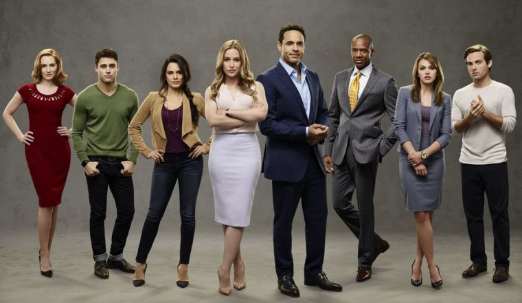 "The cast of ABC's ""Notorious."""
