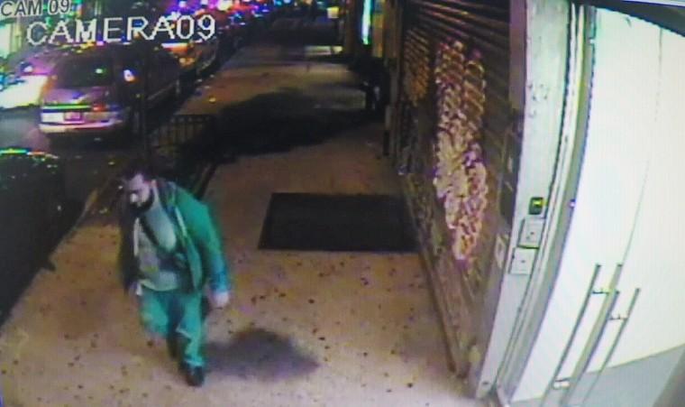 Ahmad Rahami appears in a surveillance video.