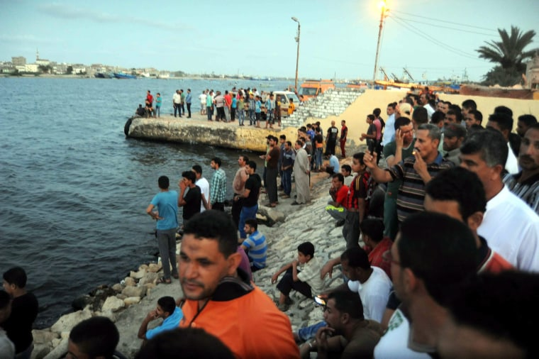 Image: 42 dead after a boat carrying migrants capsized off the shore of Egypt