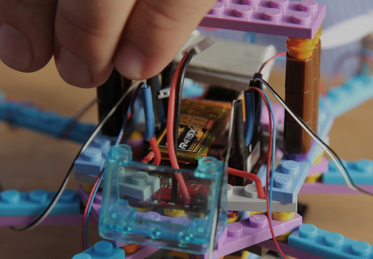 Flybrix have created a drone that is made of Legos and can be crashed, rebuilt and flown over and over again.