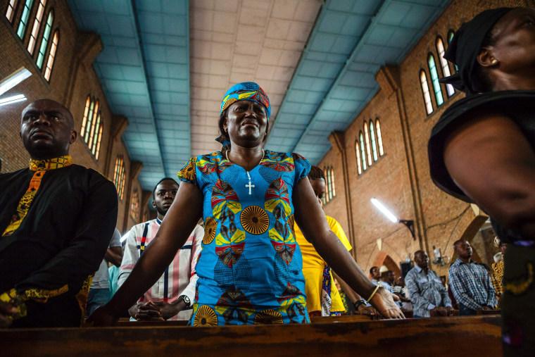 Image: DRCONGO-UNREST-RELIGION