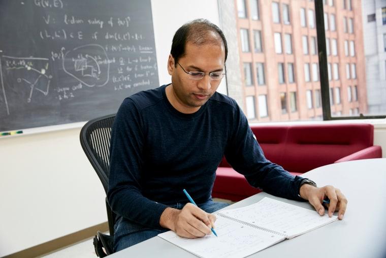 Subhash Khot, a 2016 MacArthur Fellow.