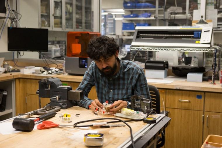 2016 MacArthur Fellow Manu Prakash at Stanford University.