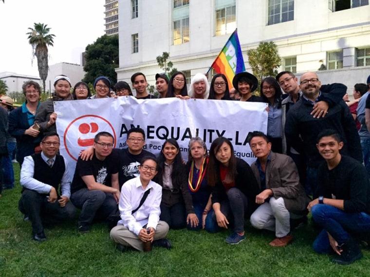 Members of API Equality-LA