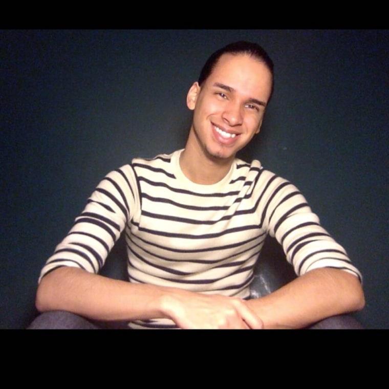 "Kevin Abreu is a ""bilennial,"" a bilingual millennial. A college student, he lives in Newark, N.J."