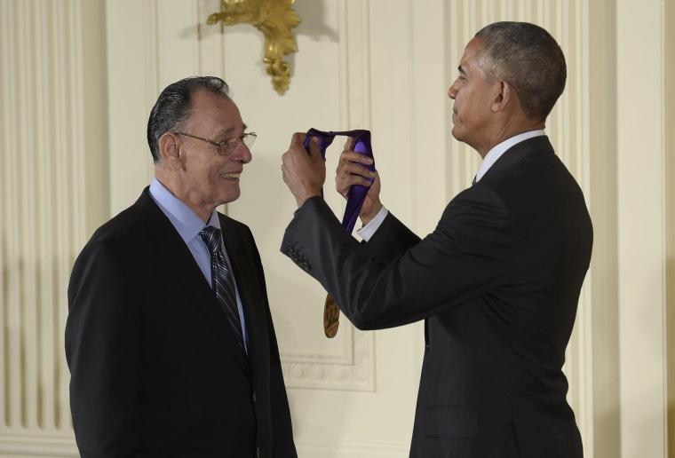 Barack Obama, Santiago Jimenez, Jr.