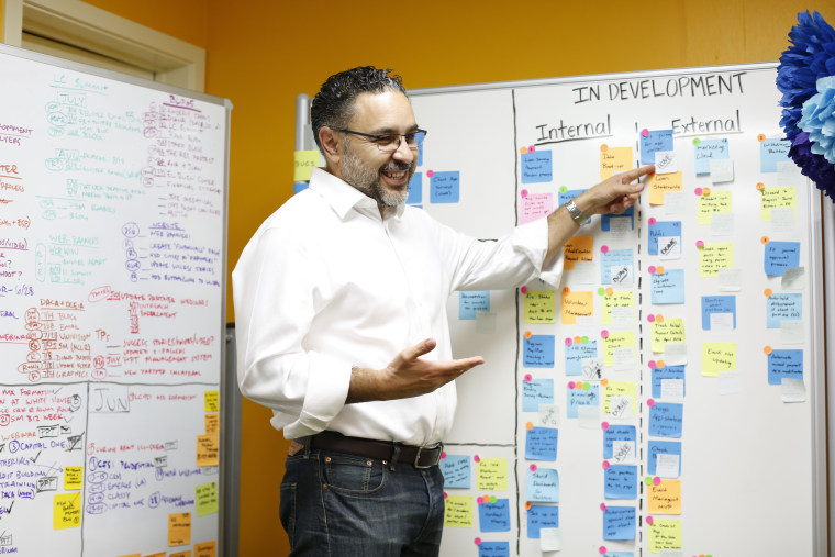 José Quiñonez, 2016 MacArthur Fellow, at the Mission Asset Fund in San Francisco, CA on Monday, Sept. 12, 2016.